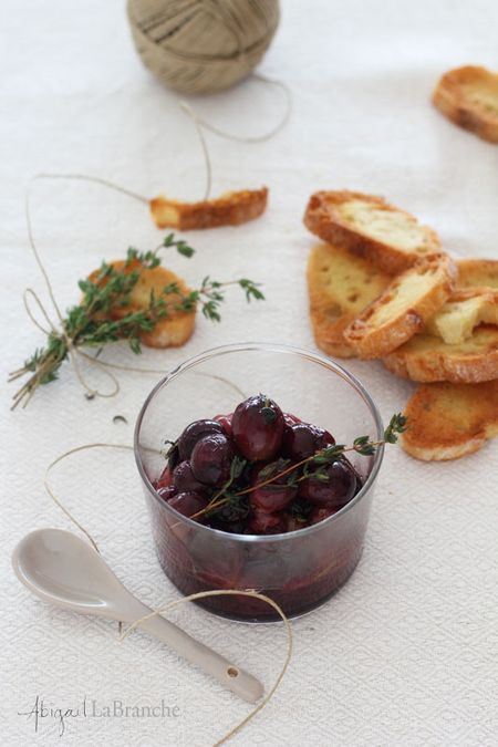 Roasted grapes wm